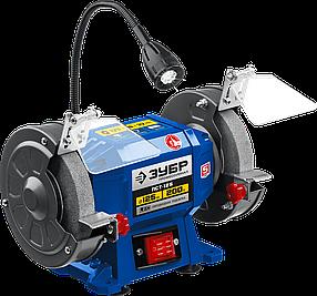 Профессиональный заточной станок ЗУБР, d125 мм, 200 Вт (ПСТ-125)