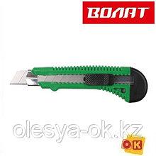Нож пистолетный с выдвижным лезвием 18мм ВОЛАТ (24101)