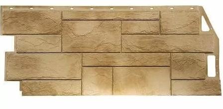 Фасадные панели Песочный 1087x446 мм Камень природный FINEBER