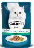 Gourmet Perle с Кроликом (пауч), Влажный корм для кошек МИНИ-ФИЛЕ В ПОДЛИВЕ, 85г.