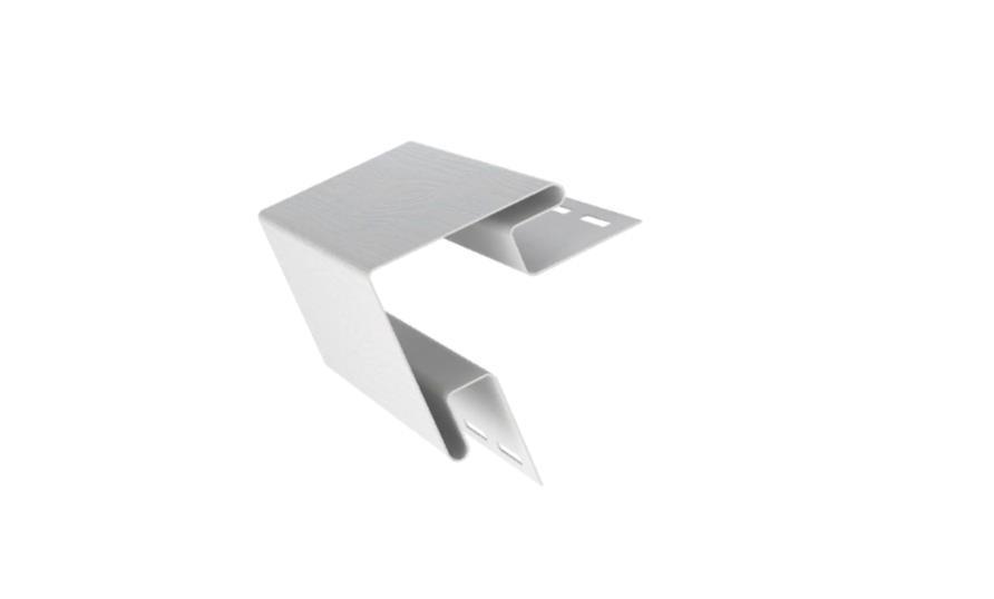 Угол внешний Белый 3050x8x8 мм CLASSIC COLOR FineBer