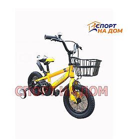 """Велосипед детский Forever """"Yellow"""" на 2-3 лет"""