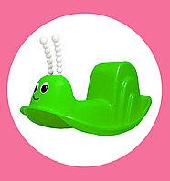 Детская качалка улитка 333 зеленый