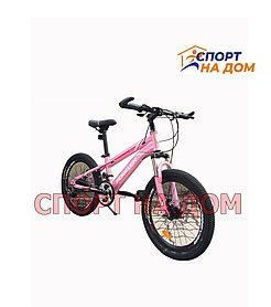 Горный велосипед Forever (розово-лиловый)