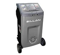 УСТАНОВКА полуавтомат для заправки автомобильных кондиционеров Sillan AC616, фото 1