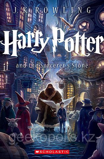 Harry Potter Box Set, Гарри Поттер комплект из семи книг на английском языке, Джоан Роулинг, Мягкий переплет - фото 3