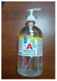 Антисептик для обработки рук 1л 70% спирта