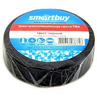 Изолента Smartbuy, 15мм*10м, 130мкм, черная, инд. упаковка