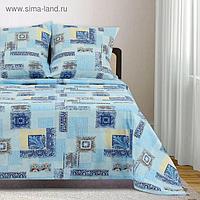 Постельное бельё 1,5 сп Samy «Арабески» 147х215 см, 150х215 см, 70х70 см - 2 шт