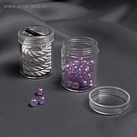 Баночки для хранения мелочей, d = 3,9 × 5 см, 20 гр, 2 шт