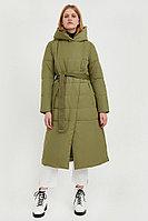 Пальто женское Finn Flare, цвет зеленый, размер 2XL