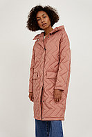 Пальто женское Finn Flare, цвет светло-розовый, размер M