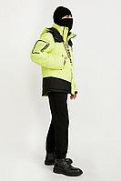 Куртка мужская Finn Flare, цвет неоновый желтый, размер 2XL