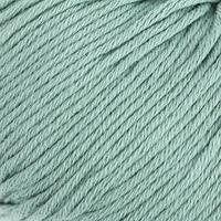 Пряжа 'Organic Baby Cotton' 100 хлопок 115м/50гр (422 лазурный) (комплект из 2 шт.)