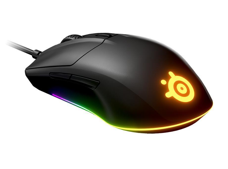 Компьютерная мышь, Steelseries, Rival 3, 62513 Игровая, Оптическая 8500 CPI,