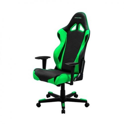 Игровое компьютерное кресло, DX Racer,  OH/RE0/NE, ПУ экокожа