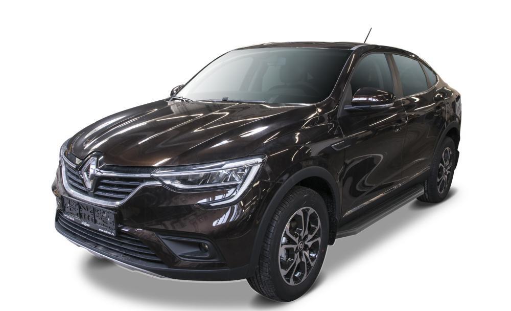 """Пороги """"Premium-Black"""" Nissan  Terrano  (2010-2016), Renault  Duster  (2011-2015)"""