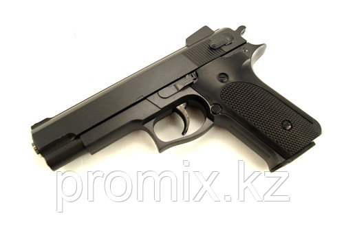 Игрушечный железный/металлический пистолет (Smith and Wesson M1006). Airsoft Gun K-33