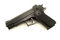 Игрушечный металлический пистолет для детей (Smith and Wesson M1006). Airsoft Gun K-33, фото 1