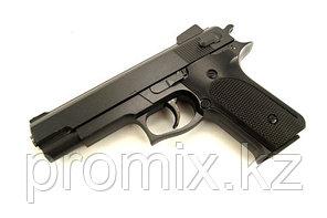 Игрушечный металлический пистолет для детей (Smith and Wesson M1006). Airsoft Gun K-33