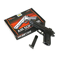 Игрушечный железный/металлический пистолет (Smith and Wesson M1006). Airsoft Gun K-33, фото 1