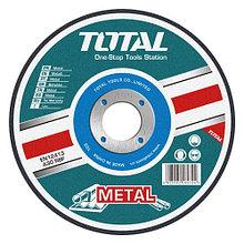 Диск шлифовальный по металлу 125х6.0х22,2мм TOTAL арт.TAC2231251