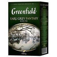 Greenfield чай черный Earl Grey Fantasy, 100 гр