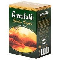 Greenfield чай черный Golden Ceylon, 200 гр