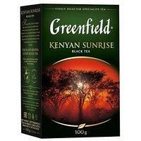 Greenfield чай черный Kenyan Sunrise, 100 гр