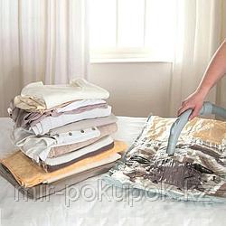 Вакуумные пакеты для хранения одежды, постельных принадлежностей и мягких игрушек 50*60, Алматы
