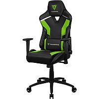 Игровое компьютерное кресло, ThunderX3, TC5-Neon Green, Искусственная кожа PU AIR