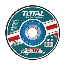 Диск шлифовальный по металлу 230х6.0х22,2мм TOTAL арт.TAC2212301