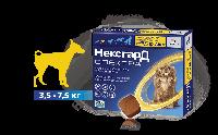НексгарД Спектра для собак весом 3,5-7,5кг, 3 таблетки