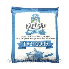Соль йодированная Барские продукты, пищевая, 1 кг