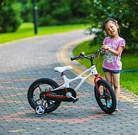 """Детский 2-колесный велосипед Royal Baby Space Shuttle 16"""", белый"""