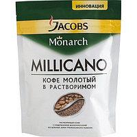 """Кофе """"JACOBS MONARCH MILLICANO"""" молотый в растворимом, 75 гр, вак.уп."""