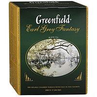 "Чай ""GREENFIELD"" Earl Grey Fantasy черный с ароматом бергамота, 2гр*100пак"