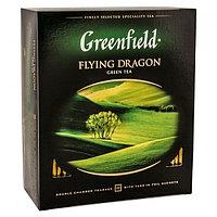Чай GREENFIELD Flying Dragon зеленый, 2гр*100пак