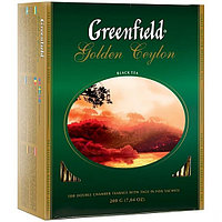 Чай GREENFIELD Golden Ceylon черный, 2гр*100пак