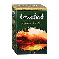 """Чай """"GREENFIELD"""" Golden Ceylon black tea 200гр, крупнолистовой, черный 0791-10"""
