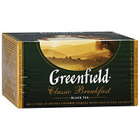 "Чай ""GREENFIELD"" Classic Breakfast черный, 2гр*25пак"
