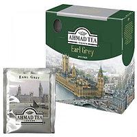 """Чай """"AHMAD"""" Earl Grey черный листовой мелкий с ароматом бергамота, 2гр*100пак"""