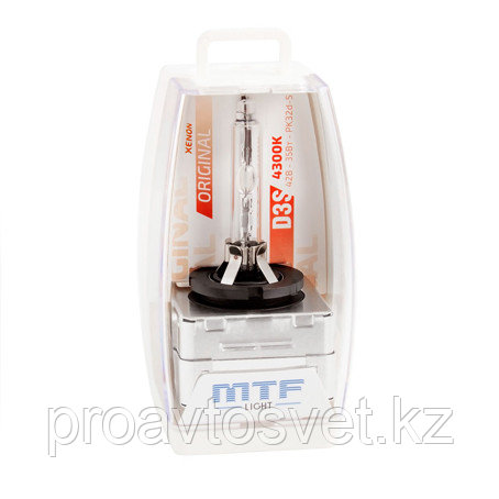 Ксенон MTF Light D3S 42В 35Вт 4300К SBD3S4