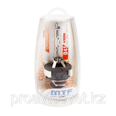 Ксенон MTF Light D4S 42В 35Вт 4300К SBD4S4