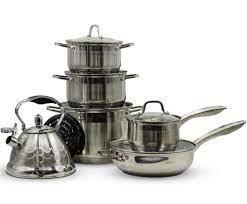 Набор кастрюль с чайником VICALINA 13 предметов