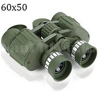 Бинокль с бинокулярный зумом и ночным виденьем тактический дальновидный до 1 000 м 60x50 HD BAK-4 зеленый