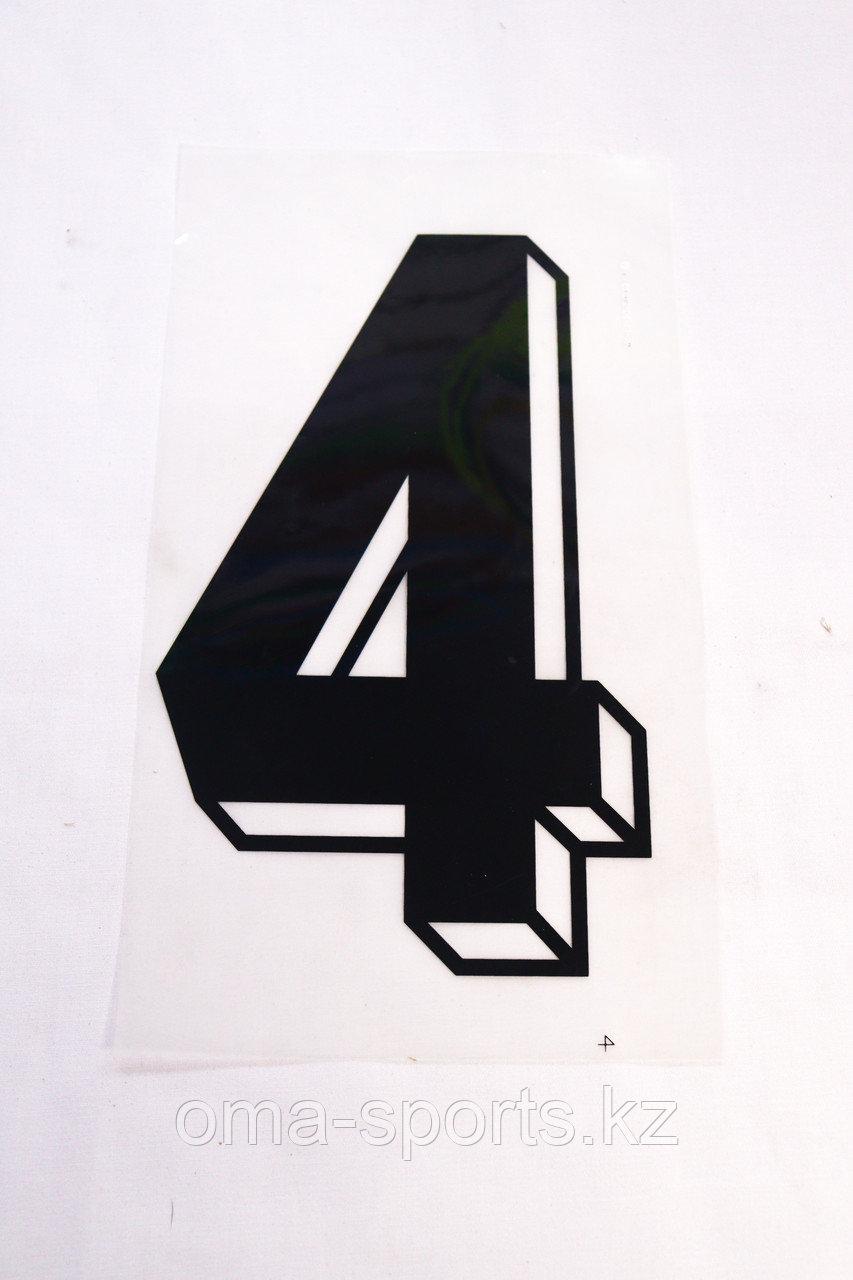 Номера наклейки для формы