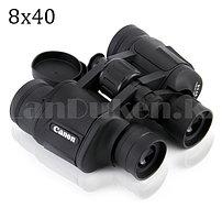 Бинокль с бинокулярный зумом и ночным виденьем матовый дальновидный до 1 000 м 8x40 HD Canon BAK-4 черный