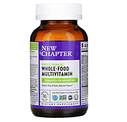 New Chapter, Идеальный пренатальный мультивитаминный комплекс, 96 вегетарианских таблеток, фото 4