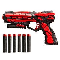 Игрушечный бластер с безопасными мягкими пулями PRO SHOOTER TACK PRO